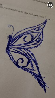 Just a butterfly I drew