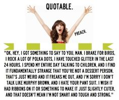 My favorite new girl quote