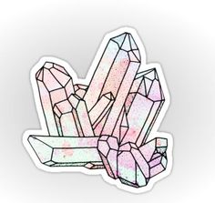 Gemstone sticker