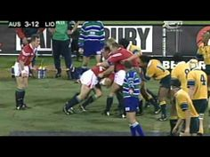 BOD scores a classic individual try against the Wallabies in the first test of the 2001 Lions Tour Rugby Videos, International Rugby, Lions, Australia, Scores, Game, Lion, Gaming, Toy