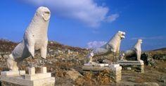 Delos Island, Cyclades, Greece