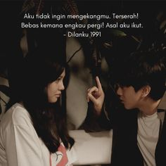 Dilan Quotes, Me Quotes, Qoutes, Sad Texts, Boy And Girl Best Friends, Quotes Galau, Simple Wallpapers, Aesthetic Indie, Galaxy Wallpaper