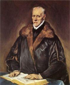 A Prelate  - El Greco