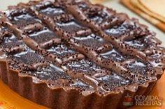 Receita de Crostata de chocolate em receitas de doces e sobremesas, veja essa e outras receitas aqui!