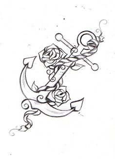 anchor tattoo idea | We Know How To Do It