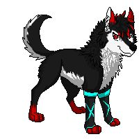 Pixel Art trade with my buddy Look at her wonderful half! >w< Crystal Pixel