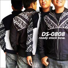 Ready Stock - Double Side Jacket DS-0808  #jaketbatikmedogh #bestseller  http://medogh.com/baju-batik-pria/jaket-batik-pria/Jaket-Batik-Double-Side-DS-0808