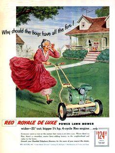 lawn advertising