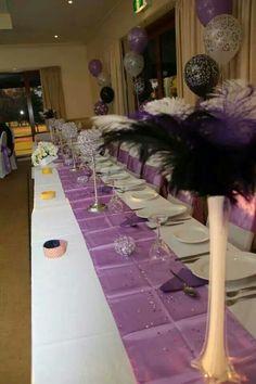 2013 Wedding Bridal Table