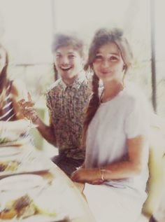 Louis and Eleanor on Els 21st birthday!!