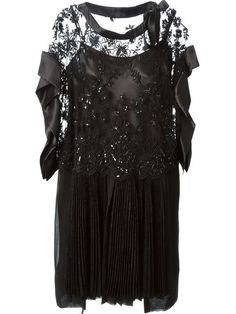 Antonio Marras Beaded Lace Dress - Stefania Mode