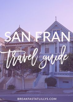 Today on the blog I'm sharing my San Francisco Travel Guide! We had a great time in SF and I hope you find this post useful if you're looking to travel to San Francisco in the near future.