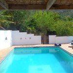 view of pool #canillas #villa #rental #malaga #andalucia