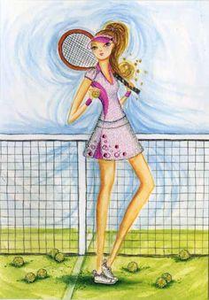 Bella Pilar - Tennis anyone