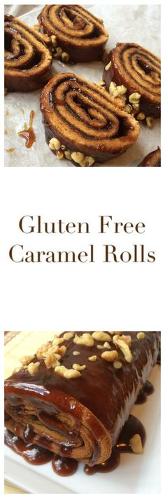 Gluten Free Caramel Rolls