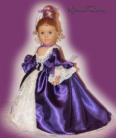 American Girl Doll Dress  Marie Antoinette  by OzarkFashions, $60.00