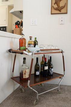 liquor/bar cart