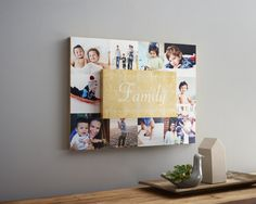 Dimensional Wall Art  Turn your favorite pictures into dimensional wall art. Crafted form wooden blocks to create a one-of-a-kind masterpiece. #Photos #WallArt