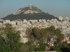 Mt. Lykavitos, Athens.  I loved to climb up to the top early in the morning.  I thought a cranky monk was going to beat me up one time.