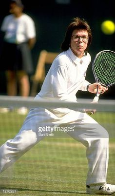 Image result for billie jean king backhand Billie Jean King, Atp Tennis, Billy Jean, Tennis Legends, Maria Sharapova, Tennis Racket, Sports, Image, Hs Sports