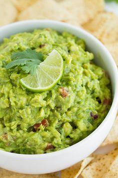Guacamole - this is my FAVORITE guacamole recipe! Easy and so delicious!