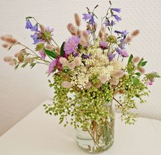 flowers from the meadow... by Anita Thomhave Simonsen, via Flickr