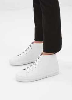 A.P.C. Montante Sneakers in White