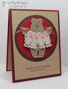 Stampin' Up! Bear Hugs for Sunday Stamps