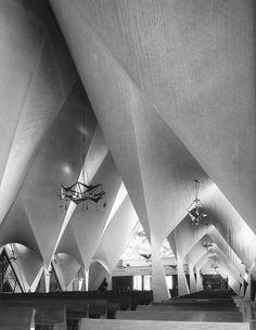 "wmud: "" félix candela - capilla de la medalla de la virgen milagrosa, mexico city, 1953 """
