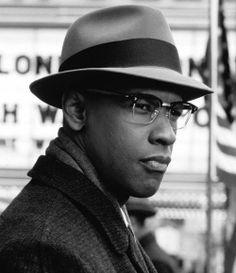 Denzel Washington (Malcolm X), 1992.