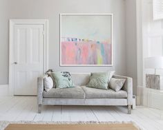 Pink Landscape Series III  This is a limited edition fine art giclee print. It is printed on either Cotton Rag Paper or Canvas  Sizes in Fine Art