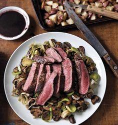 Steak Au Poivre with Mushrooms — Mark Bittman Steak And Mushrooms, Stuffed Mushrooms, Stuffed Peppers, Steak Au Poivre, Food Policy, Pepper Steak, Le Diner, Dinner Menu, Gourmet