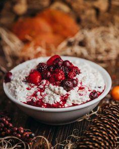 Hüttenkäse scones - Hüttenkäse Muesli, Raspberry, Muffins, Clean Eating, Good Food, Lunch, Fruit, Scones, Live