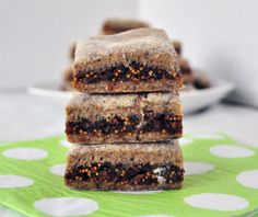 Fig Newtons: Change flour to almond and coconut mixture, then milk to almond milk and it's a perfect paleo cookie! :)