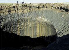 Are mysterious Siberian craters created by climate change?