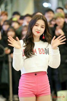 Nancy Momoland in white shirt & pink dress Nancy Momoland, Nancy Jewel Mcdonie, Korean Beauty Girls, Beauty Full Girl, Asian Beauty, Korean Girl Fashion, Beautiful Girl Image, Beautiful Asian Women, Cute Asian Girls