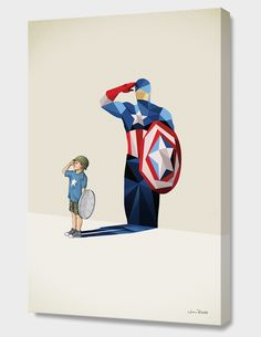 """""""Freedom!"""", Exclusive Edition Canvas Print by Jason Ratliff - From $69.00 - Curioos"""