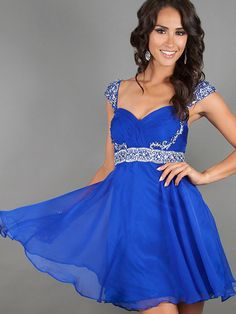 2014 Style A-line Straps Rhinestone Homecoming Dresses/Cocktail Dresses #GC499