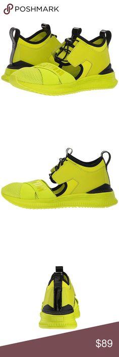 cdb2d19d Puma Fenty Avid LimePunch Sneakers - In-line street style running fashion  sneaker shoe -