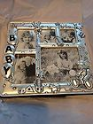 For Sale - NIB Silver Plated Baby Collage Picture Frame (5 Pics)