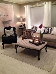Beautiful living room set up! [ MexicanConnexionForTile.com ] #interior #Talavera #handmade
