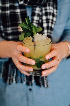 mezcal cocktail recipes pineapple and mint mezcal cocktail smash