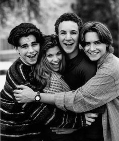 boy meets world! tepanga was my fav :)