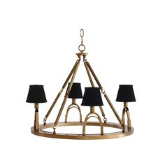 Eichholtz Jigger Chandelier - Brass | Houseology
