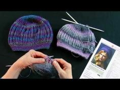 Learn to Knit the Faux Brioche Beret with Red Heart Yarns