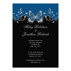 Discount DealsBlue Black Silver Butterflies Post Wedding Personalized AnnouncementYes I can say you are on right site we just collected best shopping store that have