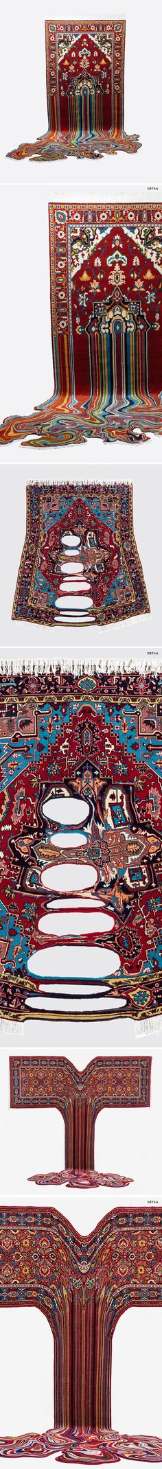 carpets (!?) by faig ahmed