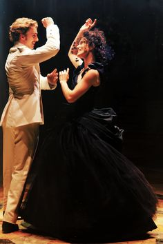 #BRAnnaK - Dance as if nobody were watching but Him!  Film still: Anna & Vronsky (Keira Kightley & Aaron Johnson)