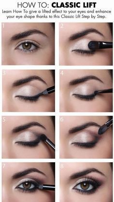 How To Give a Classic Lift To Your Eyes: