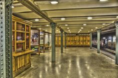 Metro Station of the Millennium Underground Railway #Budapest #Hungary #Europe #travel Photo by Daniele Jadicicco